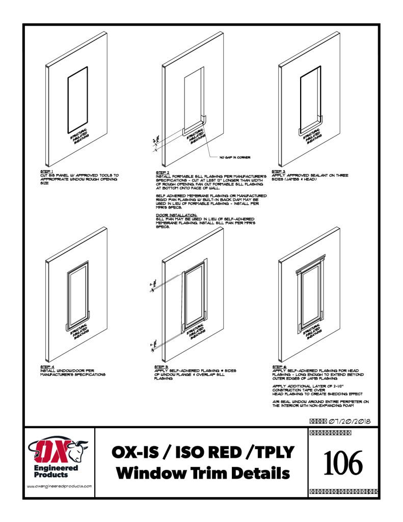 thumbnail of OX WINDOW TRIM DETAIL 106