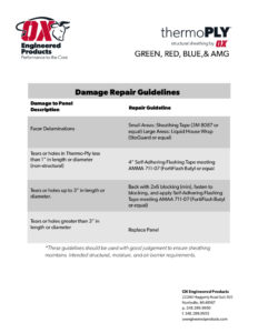 thumbnail of Tply damage repair guidelines