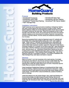 Home Guard Installation Guide