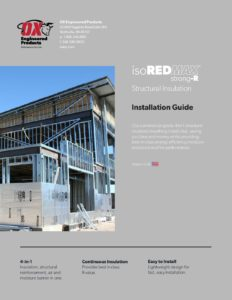 Strong-R Structural Insulation Installation Guide