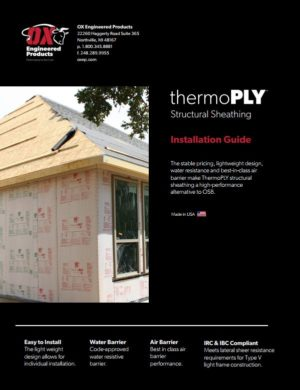 Thermo Ply Now Backed By a 30 Year Limited System Warranty