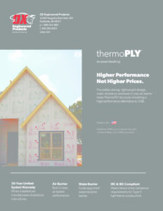 thumbnail of Thermo Ply brochure