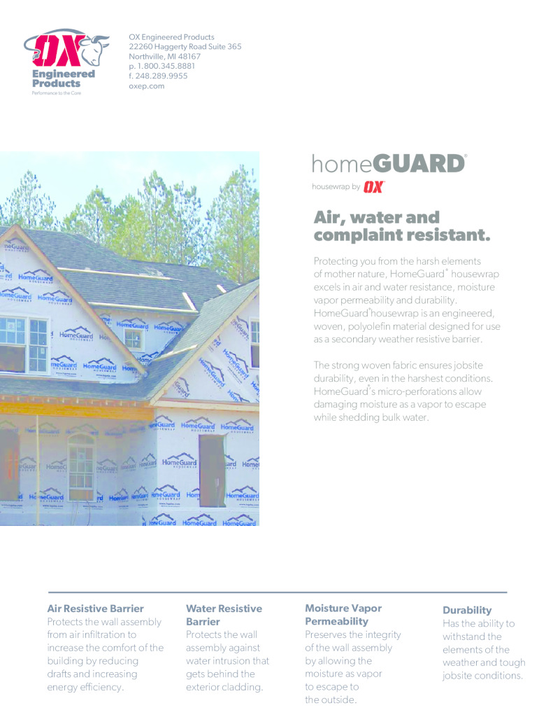 thumbnail of HomeGuard Brochure