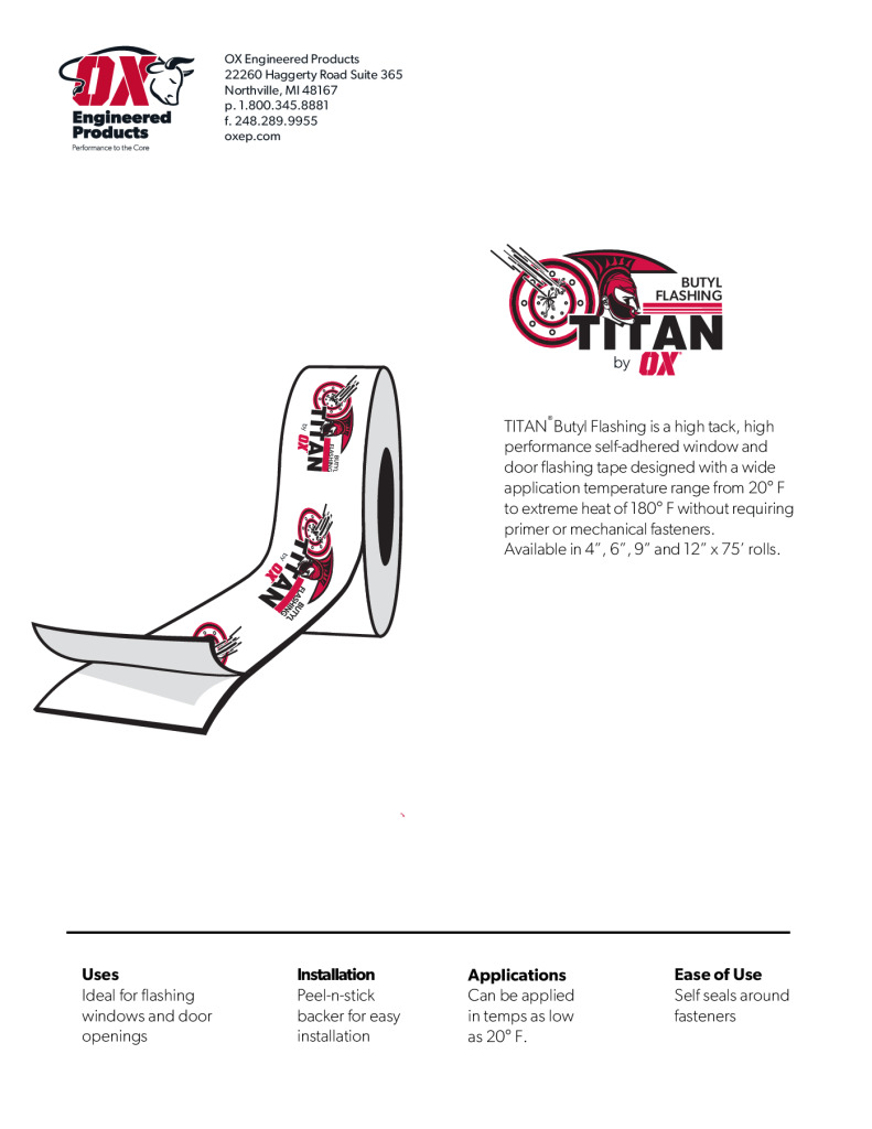 thumbnail of Titan Butyl Brochure