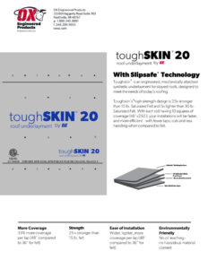 thumbnail of Toughskin 20 Brochure