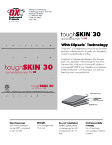 thumbnail of Toughskin 30 Brochure