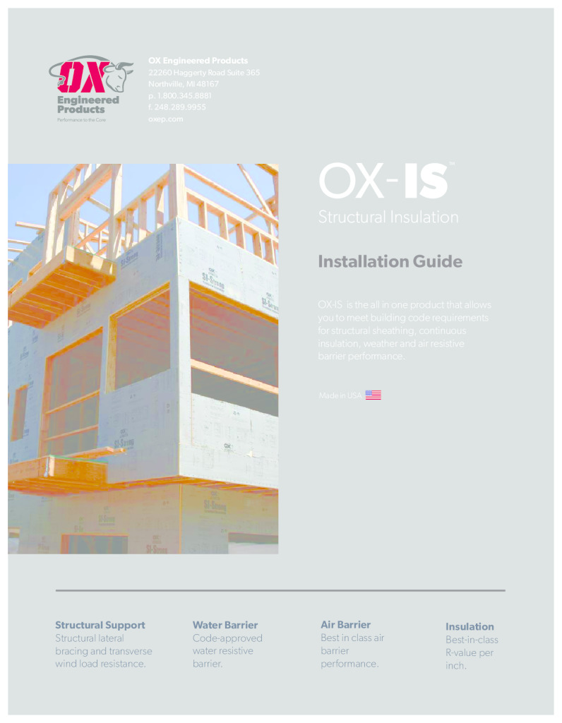 thumbnail of OXIS Installation instructions and warranty 2020