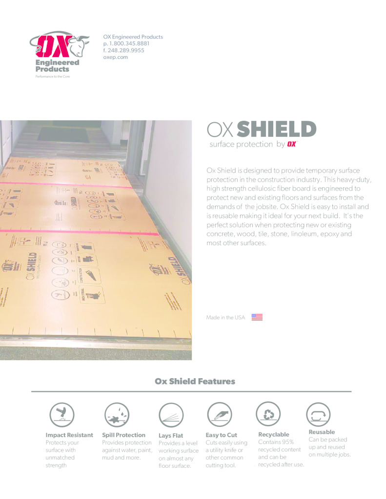 thumbnail of Ox Shield Brochure