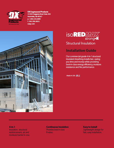 thumbnail of Strong-R Structural Insulation Installation Guide&WarrantyWeb