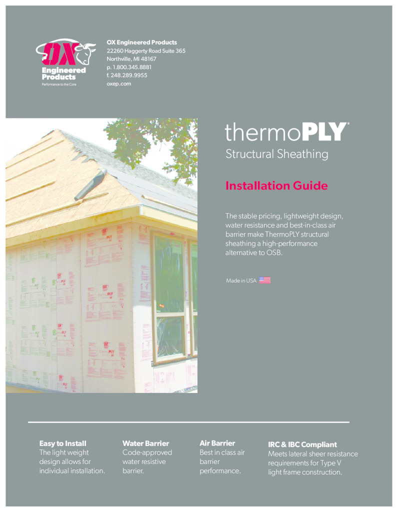 thumbnail of Themo Ply Installation Guide with warranty 2020
