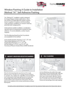 thumbnail of HomeGuard Installation Guide Method A1 2020