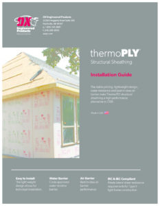thumbnail of ThermoPLY Structural Insulation Installation Guide Aug2020