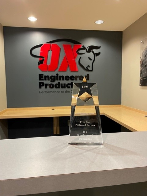 Ox Engineered Products Named a DAVID WEEKLEY HOMES 2021 National Preferred Partner